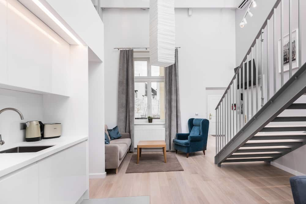 Family Duplex Suite - Living Room