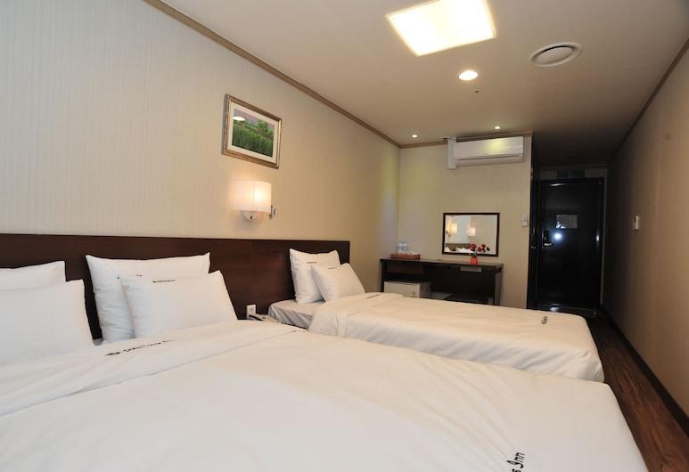 City Days Inn Dongdaemun, Seoul, Deluxe Twin Room, Bilik Tamu
