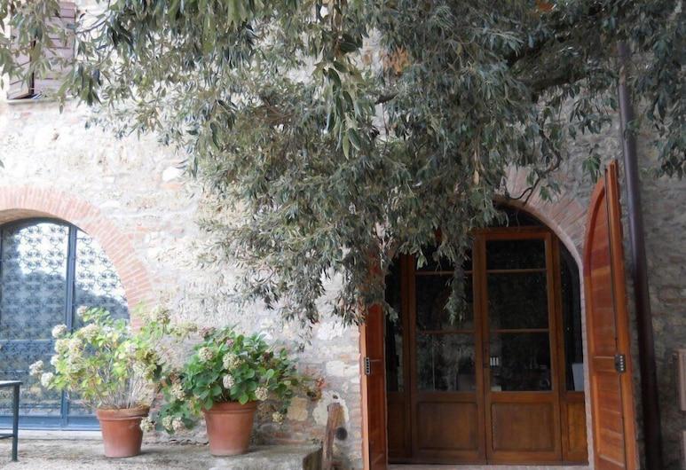 Agriturismo La Badiola, Chiusi, Entrée de l'hôtel