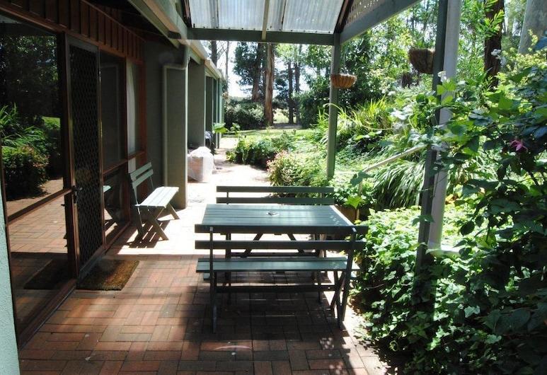 Clarendon Chalets, Ob Flat, Taras/patio