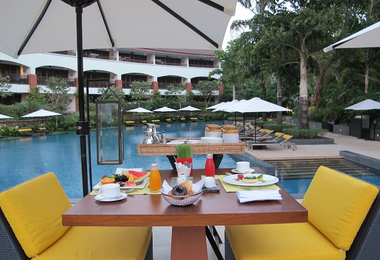 The Diwa Club by Alila Diwa Goa, Majorda, Outdoor Dining