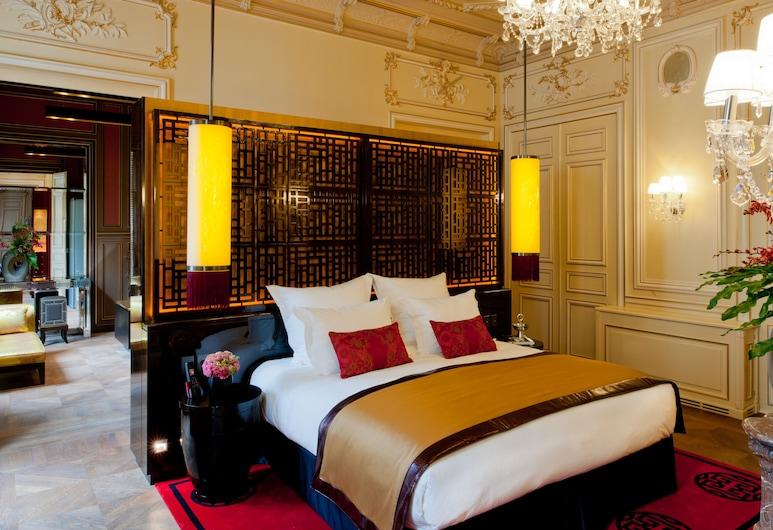 Buddha-Bar Hotel Paris, Paris, Suite de Gagny, Quarto