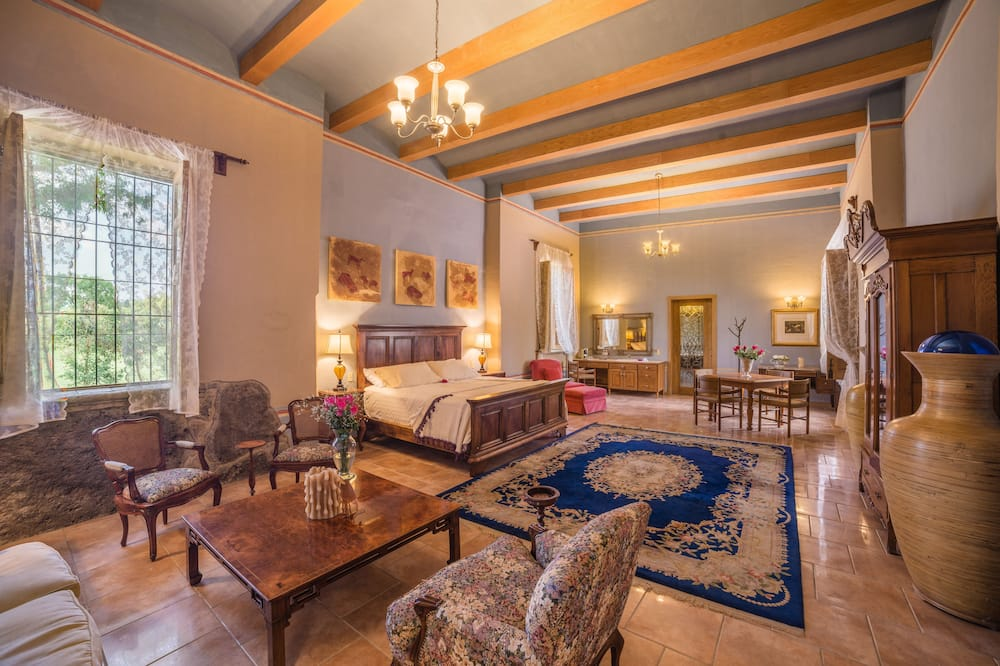 Superior suite, 1 kingsize bed, bubbelbad - Kamer