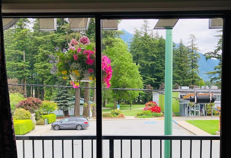 溫莎汽車旅館, 霍普, 經典客房, 2 張標準雙人床, 公園景觀, 露台