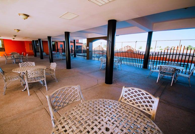 Hotel Consulado Inn, Ciudad Juarez, Terrace/Patio