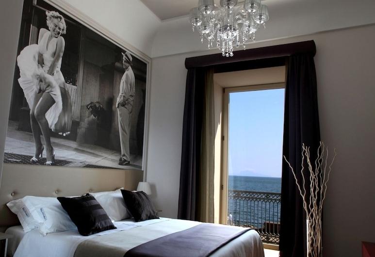 Partenope Relais, Naples, Izba typu Deluxe, výhľad na more, Hosťovská izba