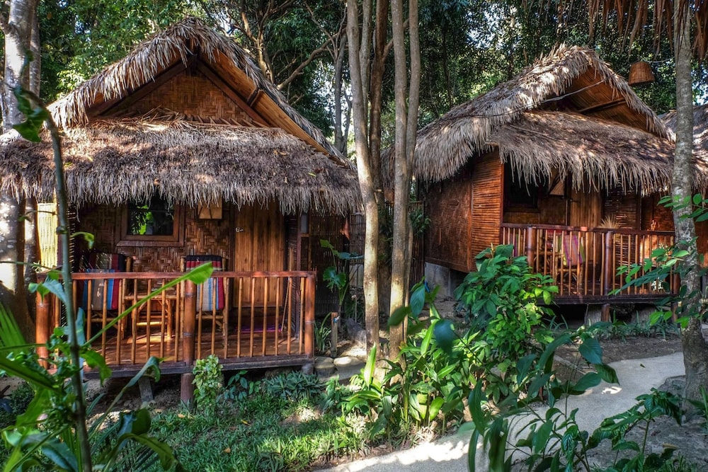 Simple bungalows hos Gecko Lipe