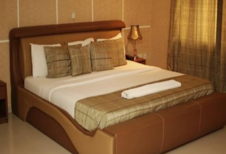 Diplomat Hotel Ikeja, Lagos, Bilik Tamu