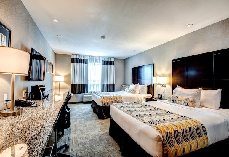 約克頓套房旅館, 約克頓, 標準客房, 2 張加大雙人床, 客房