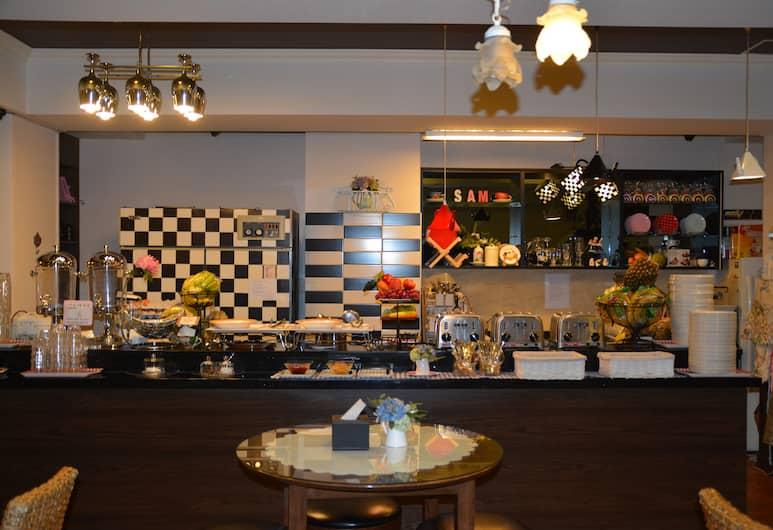 ファンステイ イン ゲストハウス, 釜山, 朝食スペース