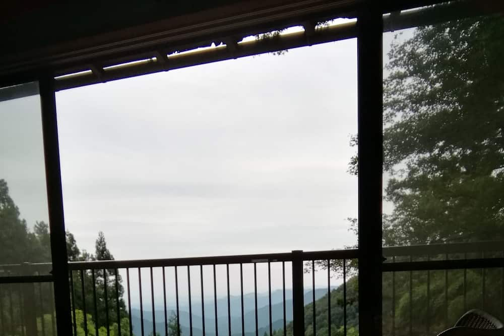 Традиційний двомісний номер (2 односпальних ліжка), для некурців (Japanese Traditional Room, New) - Вид з балкона