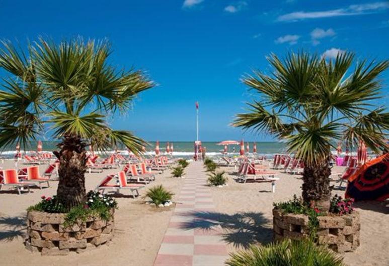 Portoverde Beach Apartments, Misano Adriatico, Plaj