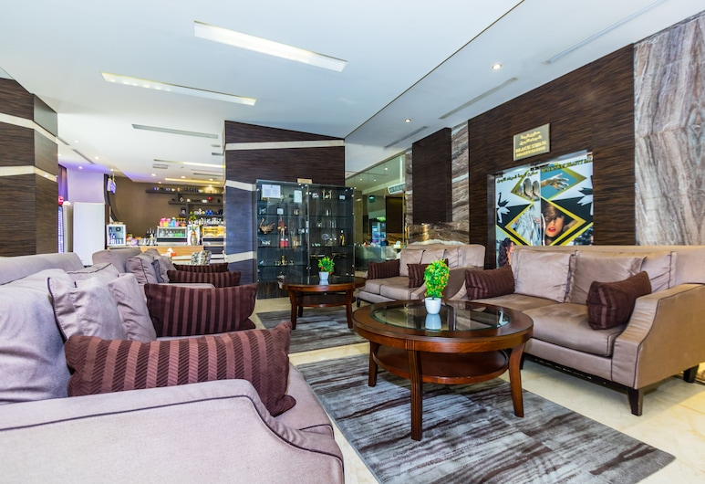 Nehal Hotel, Abu Dhabi, Lounge i lobbyn