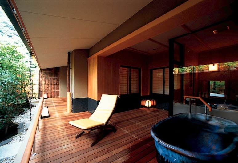 Hotel Nanpuso, Hakone, Teres/Laman Dalam