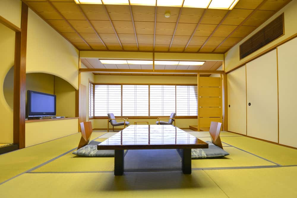 Japanese Style Room (without Open-Air Bath) - Living Area