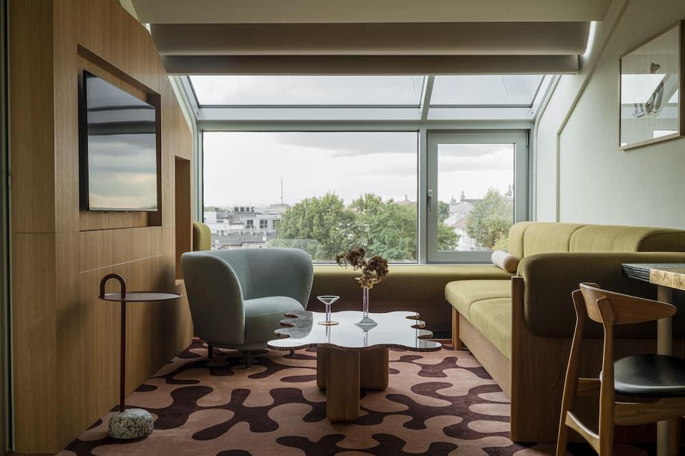 Suite (Single Occupancy) - Living Area