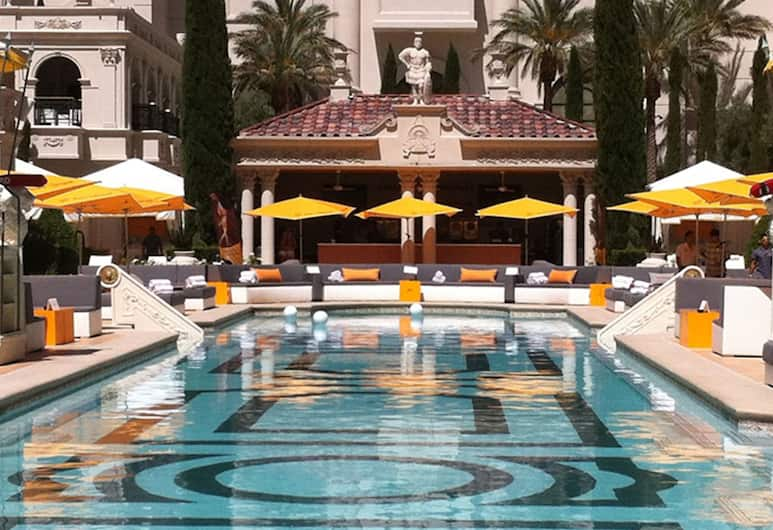 Nobu Hotel at Caesars Palace, Las Vegas, Outdoor Pool