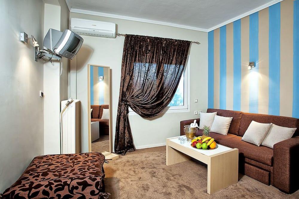 Superior-Doppelzimmer, Seeblick - Wohnbereich