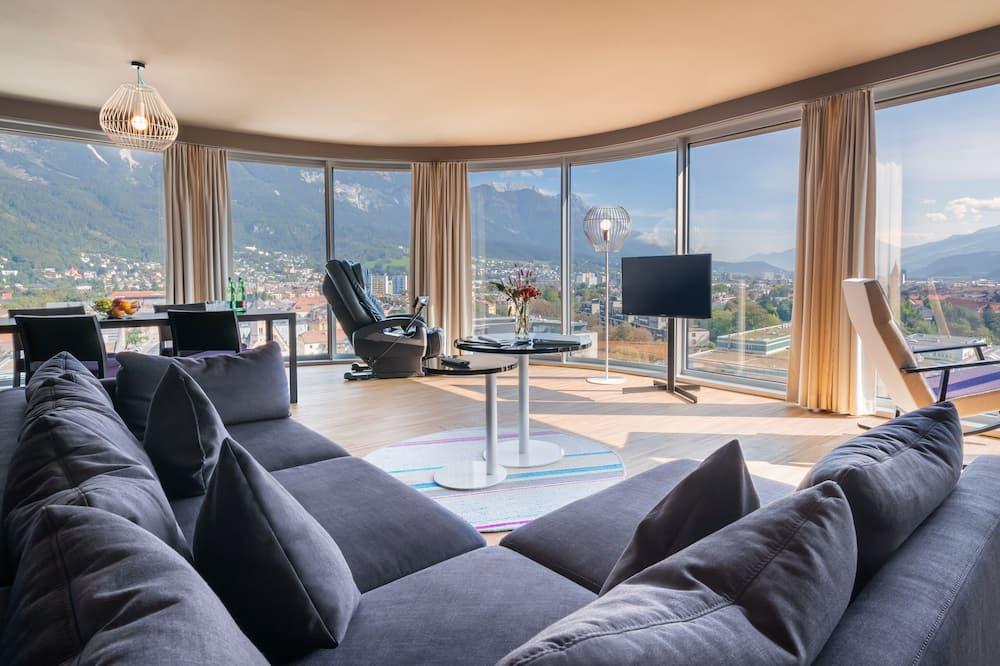 Panorama suite - Woonruimte