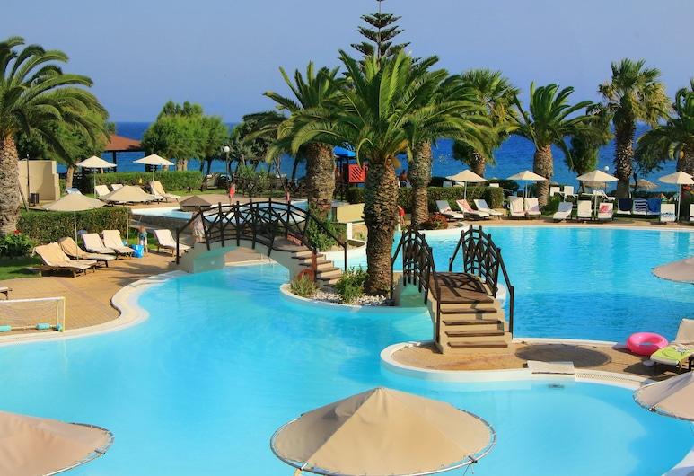 D'Andrea Mare Beach Hotel – All Inclusive, Rodos, Svømmebasseng