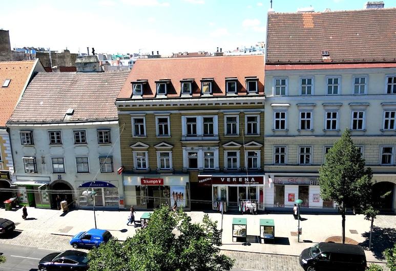 KIBI Rooms, Viena, Vista do hotel