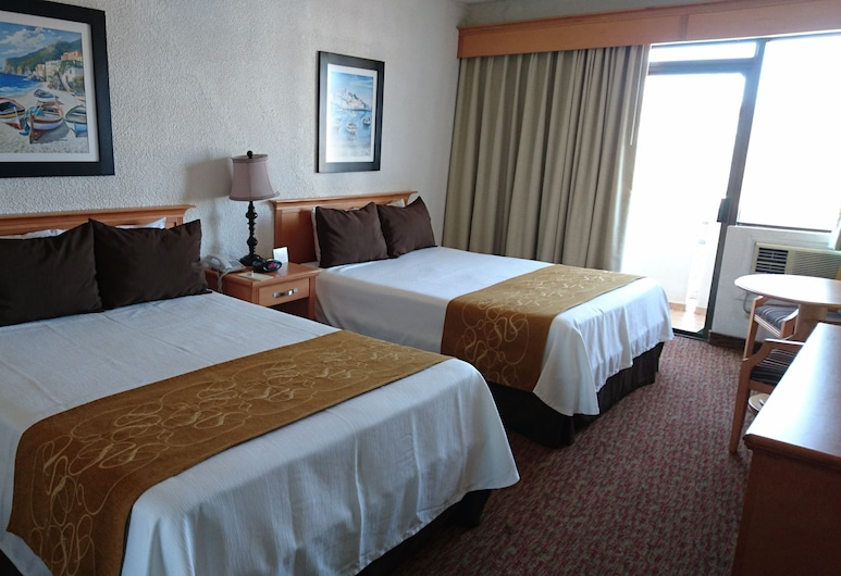 Corona Hotel & Spa, Ensenada, Dobbeltrom – basic, Gjesterom