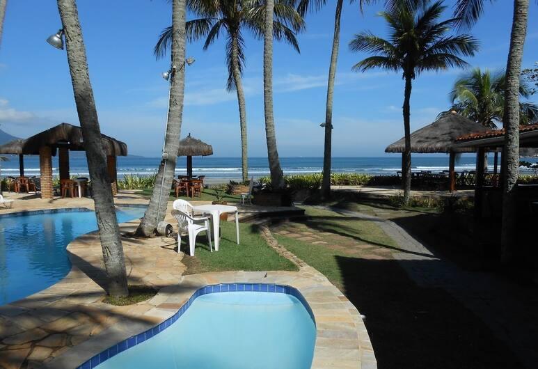 Barequeçaba Praia Hotel, São Sebastião, Buitenzwembad