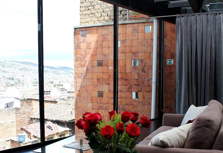 Hotel Casa Gardenia, Quito, Obývacie priestory