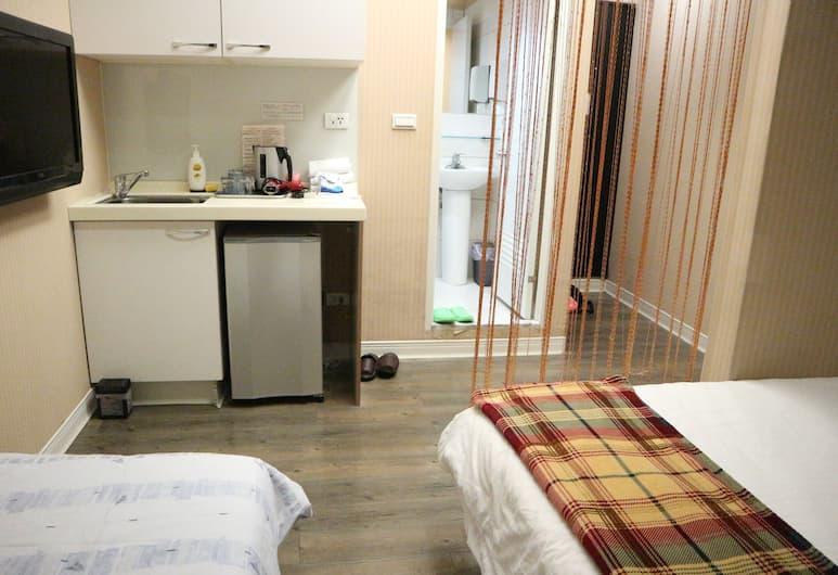 Sogo Apartment, Taipei, Deluxe driepersoonskamer, Uitzicht vanaf kamer