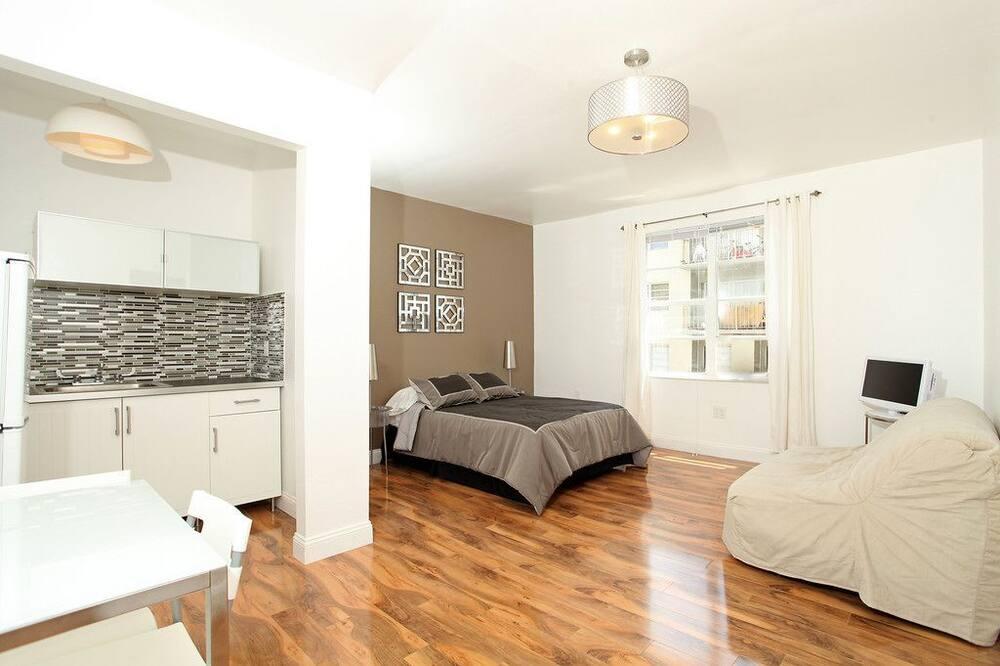 標準公寓, 1 張加大雙人床和 1 張沙發床 - 客房