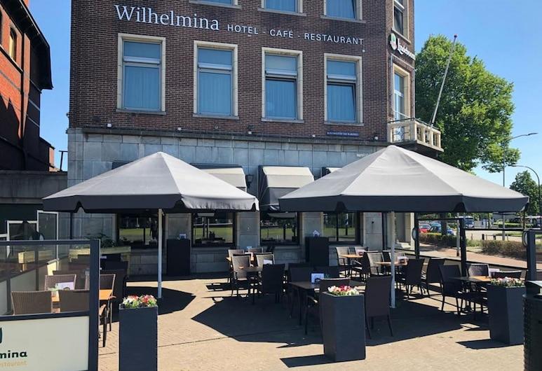 Hotel Wilhelmina, Venlo, Terasa