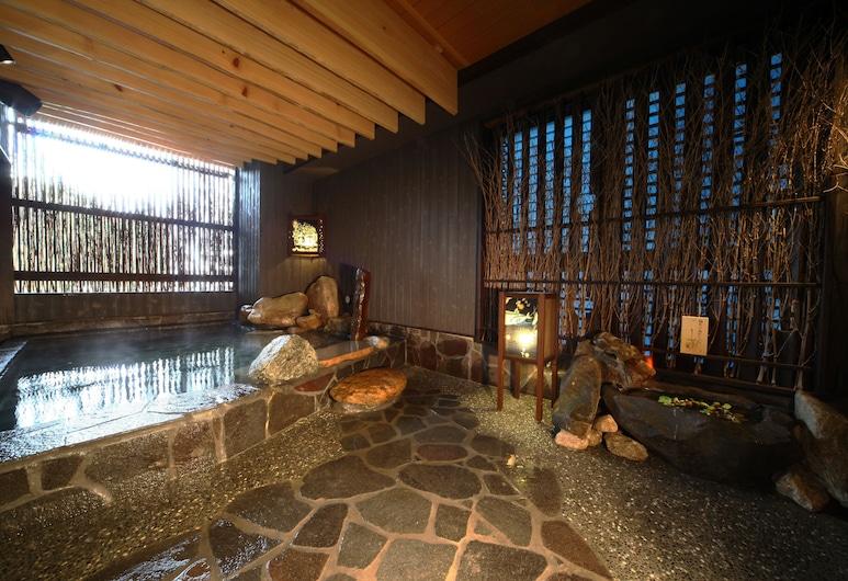 博多運河城前頂級天然溫泉多米旅館, 福岡, 室內 Spa 池