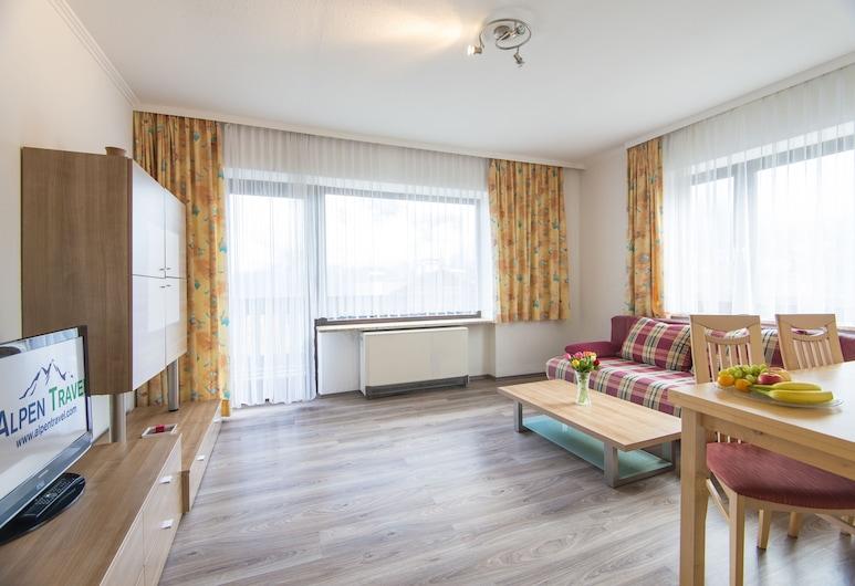Landhaus St. Georg, Bad Gastein, Dzīvokļnumurs, viena guļamistaba, balkons, Numurs