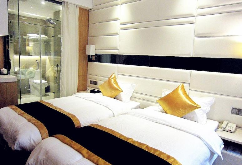 Super 8 Hotel Chongqing Da Li Tang, Chongqing, Standard, Dua Katil Kembar, Merokok, Bilik Tamu