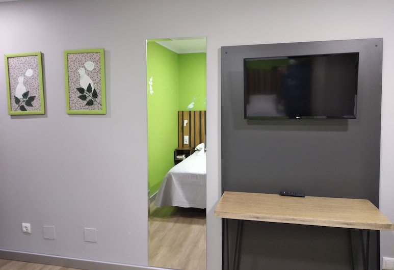 Hostal Bríos, Lugo, Standard Double Room, Bilik Tamu