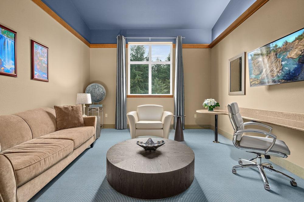 Suite, 1King-Bett (Sky) - Wohnbereich