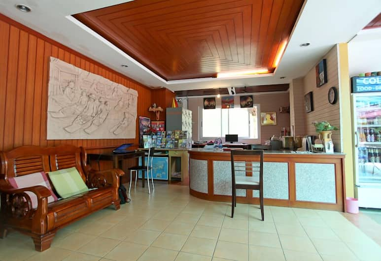 Priew Wan Guesthouse, Patong, Réception