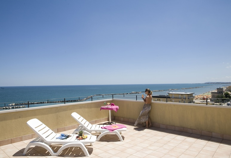 Hotel Palos, Rimini, Terrazza/Patio