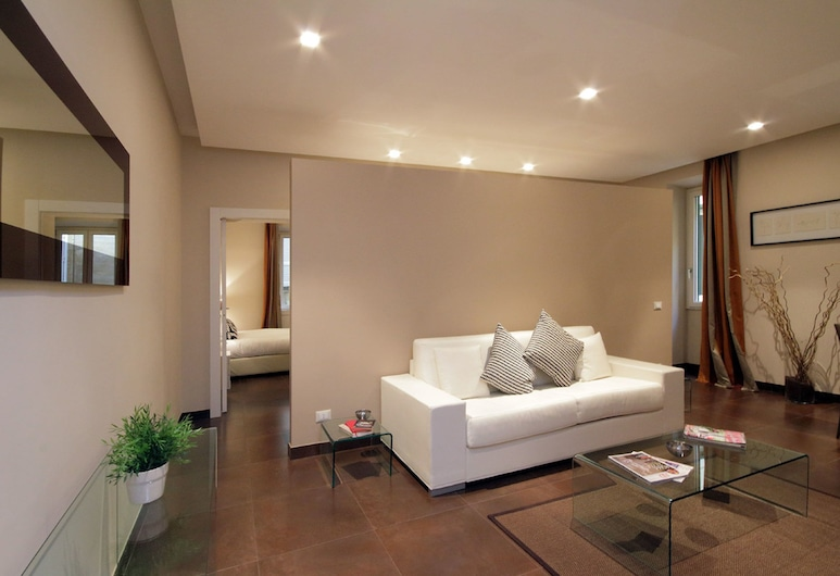 Colosseo Gardens - My Extra Home, Rome, Apartment, 2 Bedrooms, 2 Bathrooms, Living Room