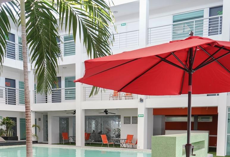 Hotel Villanueva, Chetumal, Piscina