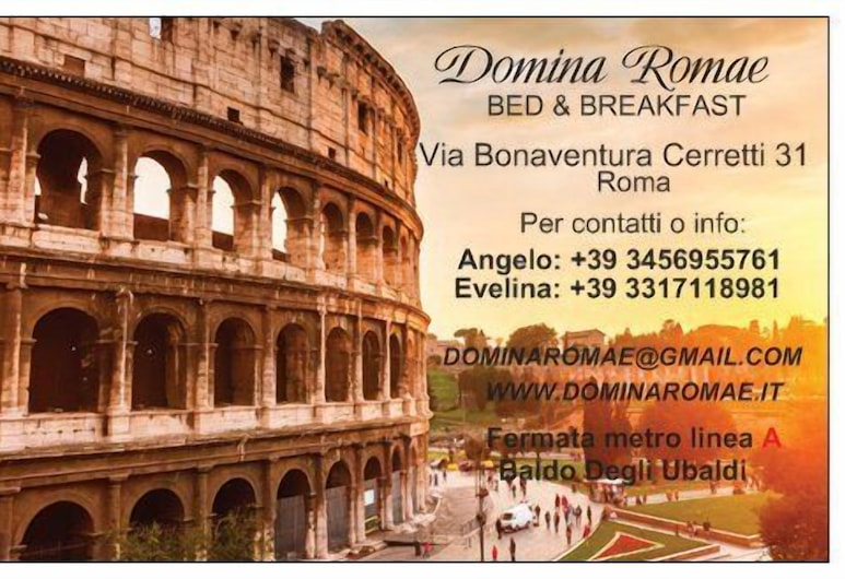 Domina Romae B&B, Roma, Hall