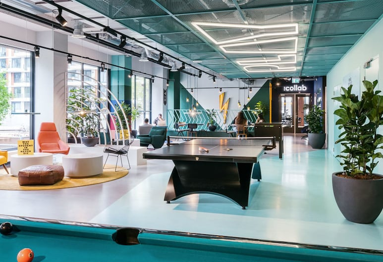 The Student Hotel Amsterdam West, Amsterdam, Lobby-Lounge