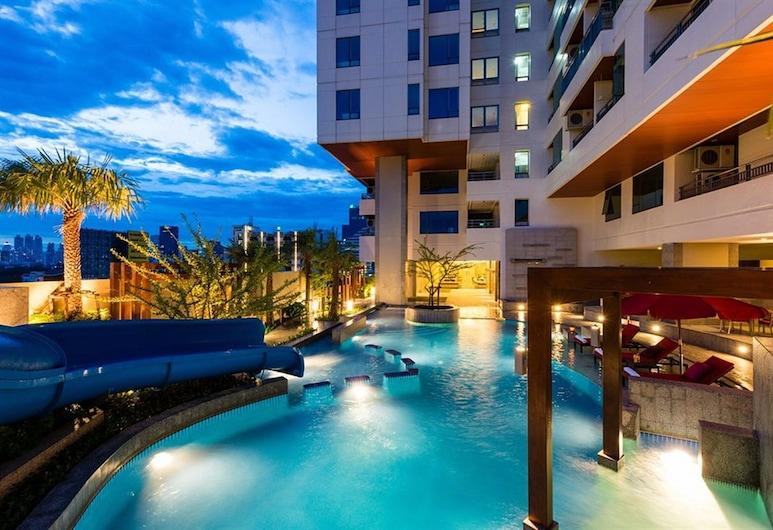 茉莉花豪華公寓, 曼谷, 室外游泳池