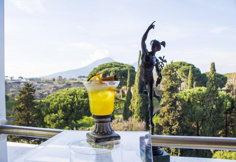 Hotel del Sole, Pompeia, Bar do hotel