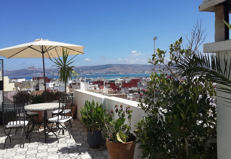 Riad Arous Chamel, Tanger, Terassi/patio