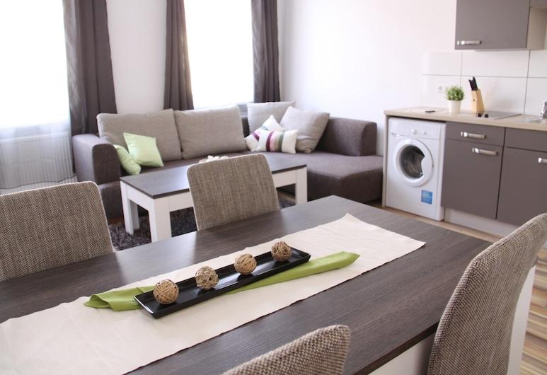 CheckVienna – Apartment Huglgasse, ウィーン, コンフォート アパートメント 1 ベッドルーム, リビング ルーム
