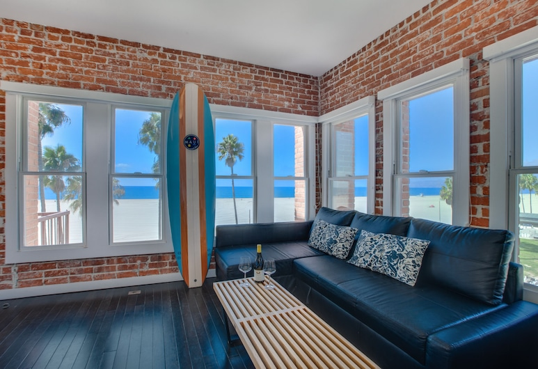 Venice Breeze Suites, Venice, Suite-Estúdio (Oceanfront View), Vista do quarto