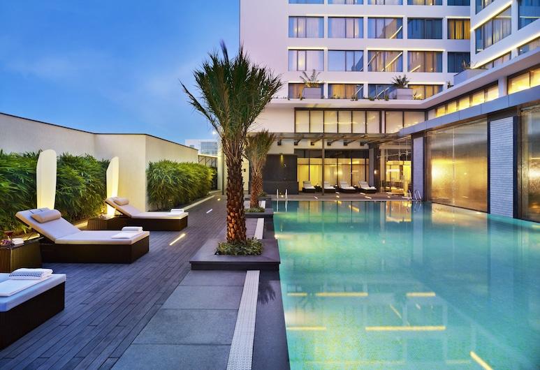 威萬塔清奈科技高速公路飯店, 欽奈, 高級客房, 1 張特大雙人床, 城市景觀 (OMR View), 客房