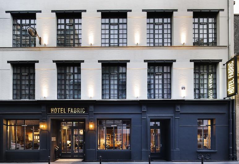 法布里克酒店, 巴黎, 酒店正面