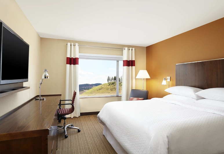 Four Points by Sheraton Kelowna Airport, Kelowna, Room, 1 King Bed, Guest Room